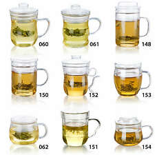 1 pc A variety of shapes Heat-Resisting Glass Tea Pot Water Cups with infuser