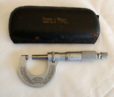 VINTAGE MOORE & WRIGHT MICROMETER 961 SHEFFIELD ENGLAND
