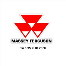 Massey Ferguson X-Large sticker decal Tractor IMCA NHRA USRA