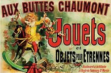 Jouets Friends Série TV Poster VINTAGE ADVERTISING FRENCH Print Wall Art grandes