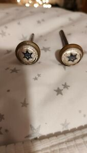 Victorian Picture Hangers Blue Star