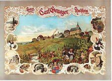 Original vintage poster GERMAN SPARKLING CHAMPAGNE c.1890