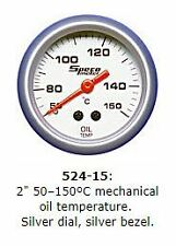 Speco 2'' ( 50mm ) 50 -150c Mechanical Oil Temperature Gauge  P/N 524-15