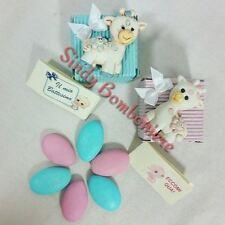 Scatolina portaconfetti bomboniere stock Giraffa magnete per battesimo, nascita