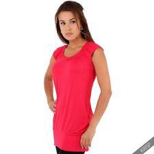 Damenblusen, - tops & -shirts mit V-Ausschnitt aus Viskose in Größe 44
