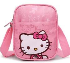 1x Hello Kitty Children's Crossbody Bag Oxford Cloth Girl's School Travel Bag