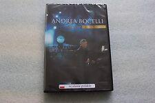 Andrea Bocelli - Vivere Live in Tuscany DVD PL Polish Release