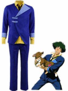 Cowboy Bebop Spike Spiegel Cosplay Costume Men's uniform Full Set suit