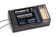 Genuine Futaba 2006GS S-FHSS ricevitore 6 CH, Regno Unito modello Shop, Genuine Futaba.