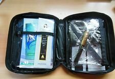 Travel Cosmetic Zippered Bag/Case/ Makeup Pouch Includes Sample Products
