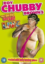 Roy Chubby Brown's Don't Get Fit ! Get Fat ! Live * NEW & SEALED * FAST DISPATCH