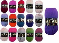 Aran Knitting Yarn Woolcraft 400g over 20 Shades Available - Buy 10 Get 5% Off!