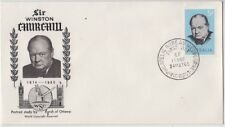 Stamps Australia 5d Churchill on WSC cachet FDC from Canadian producer, scarce