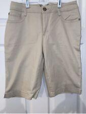 Nine West Khaki Shorts  Sz 8 NWT