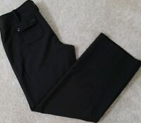 Ann Taylor~Women's Size 10P Petite~Brown Dress Pants Wear to Office Stretch.