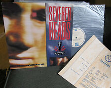 SEVERED HEADS COME VISIT THE BIG BIGOT LP '86 w/insert industrial synth wave oop