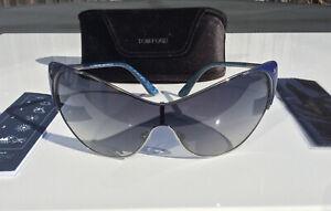 Tom Ford Vanda Ladies Grey Gradient Lens Sunglasses FT0364 89W