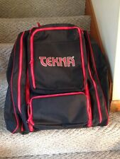 Tekna Diver's Gear Bag Red & Black Removable Shoulder Straps Terrific Condition
