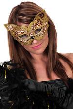 Phanter Maske Venezianische Maske Katze Maskenball Fasching Karneval KK