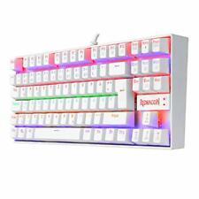 K552 Mechanische Gaming Tastatur 60% Mini TKL Keyboard mit Roten Schaltern DE