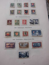 Sammlung, Schweiz Pro Juventute 1925-1959 + Block 3 , sauber  gestempelt (921)