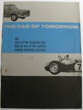 FERGUSON Car Sales Brochure 1963 #2769.61