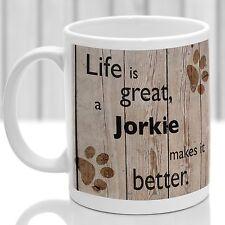Jorkie dog mug,Jorkie dog gift, ideal present for dog lover