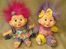 """Applause 11"""" Troll Dolls MELODY & JAVA with Tag"""
