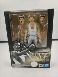 [IN STOCK] Bandai S.H. Figuart Freddie Mercury (LIVE AID VER.) SHF