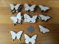 40x 50mm BUTTERFLY SHAPES 3mm - PLY SHAPES CRAFT TAG