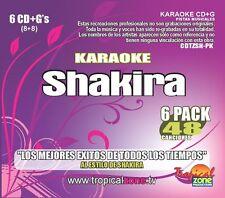 Karaoke Shakira, Karaoke Latin Stars Audio CD, KARAOKE SYSTEM, audio, latina