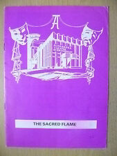 Alexandra Theatre Programme 1977- Jean Anderson in THE SACRED FLAME by S Maugham