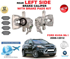 FOR FORD KUGA Mk I 2008->2012 REAR AXLE LEFT BRAKE CALIPER WITH BRAKE PADS SET