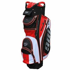 Masters 2018 T900 Golf Cart Trolley Bag 14 Way Divider Top Black / White / Red