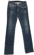 True Religion Jeans 'DISCO BILLY BIG T' Indigo Size 27 L34 EUC RRP $499 Womens