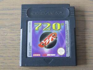 JEU NINTENDO GAMEBOY 720  GAME BOY