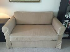 Ikea Hagalund  2 Seater Sofa Double Bed Sofa-Bed in clean and nice condition