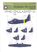 Bestfong Decals 1/144 Grumman Hu-16 Albatross Rocaf Late Version