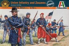 Italeri  6012 - Union Infantry And Zouaves       1:72  Plastic Figures/Wargaming