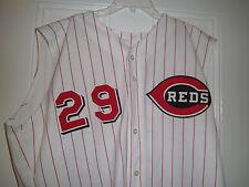 2001 Rob Bell Cincinnati Reds Game Used Worn Jersey