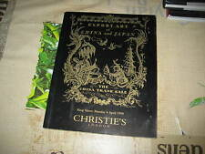 CHRISTIES CATALOGUE EXPORT ART OF CHINA & JAPAN CERAMICS PAINTING +