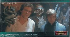 STAR WARS TOPPS ROTJ RETURN OF THE JEDI WIDEVISION P1 GENERAL DISTRIBUTION PROMO