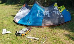 2012 North Rebel 12m With BAR & Lines kiteboarding kite kitesurfing