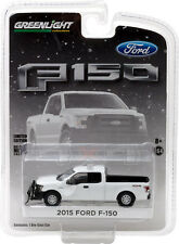Greenlight Hobby Exclusive Ford F-150 with Light Bar & Snow Plow Free USA Ship