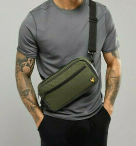 LYLE & SCOTT 2020 Sports Waist Bag Green Cross Body Bumbag Fanny Pack Gym Travel