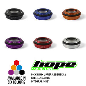 "Hope Pick'n'Mix Headset Upper Assembly 2 S.H.I.S. ZS44/28.6 1-1/8"" Integral New"