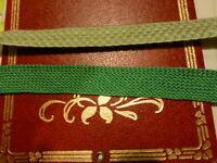 3mx2cm les tresses vertes pour scrapbooking ou créations diverses&& 3lots