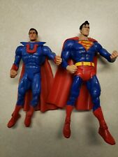 "DC Universe red eye Superman and Ultraman 6"" action figures"