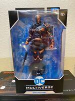 DC Multiverse Deathstroke New Sealed McFarlane Toys Batman Arkham Origins