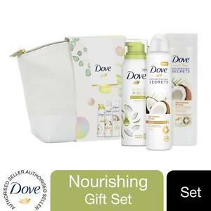 1x, 2x or 4x Dove NourishingSecrets RelaxingRitual Washbag 3pcs Gift Set For Her